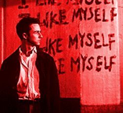 He&#039;s good enough, smart enough...: Edward Norton in Fight Club.