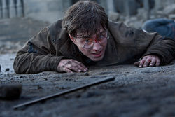 Daniel Radcliffe in Harry Potter and the Deathly Hallows: Part 2.
