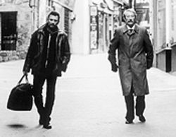 Opposites attract: Johnny Hallyday and Jean 