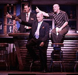 Julian Rebolledo, Mark Zimmerman and Eddie Korbich  in Heaven Help Us!