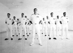 """VB 39, US Navy SEALS,"" by Vanessa Beecroft, photo enlargement."