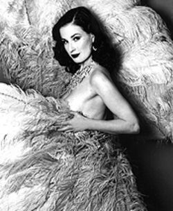 Dita Von Teese gets ready to please.