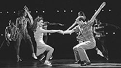 Dance fever: Twyla Tharp's choreography keeps  Movin' Out moving.