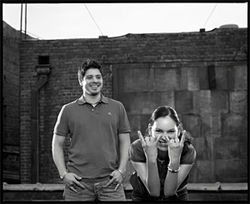 Too much metal for one hand: Rodrigo Sanchez and Gabriela Quintero are Rodrigo y Gabriela.