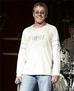 Who are you? No, really, Roger Daltrey. Who are you?