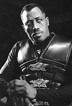 One sharp dude: Wesley Snipes in Blade II.