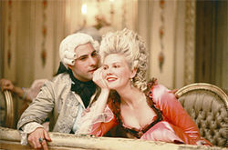 Marie and King Louis, having more fun than their audience.