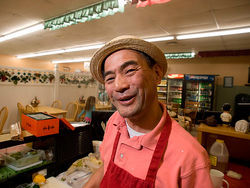 Owner Tsukasa Hibino corners the market on ramen at Sachi Sushi. See the full slideshow from Sachi Sushi.