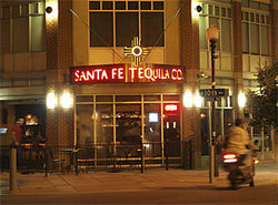 Santa Fe Tequila Company gives rise to idle thoughts.