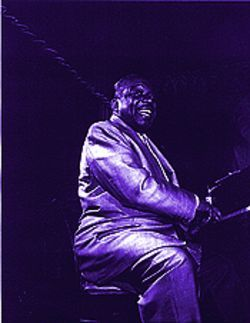 """Count Basie (Upstairs at the Blue Note),"" by Ted Williams, photo."
