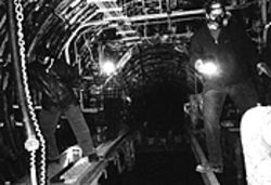 The Titan 1 Missile base tunnels.