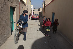 Many Afghan children had never seen a woman ride a bicycle &amp;mdash; until Shannon Galpin came along.