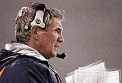 The freeze is on: For coach Mike Shanahan, this 