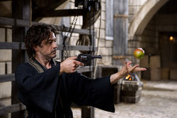 Robert Downey Jr. stars in Sherlock Holmes: A Game of Shadows.