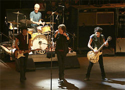 The Rolling Stones' Beacon Theater performance is the subject of Martin Scorsese's Shine a Light.
