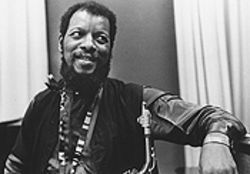 Ornette Coleman pictured in 1972, the year his Skies of America was first released.