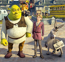 The gang's all back for Shrek the Third. And, yes, Donkey, it suck-eth.