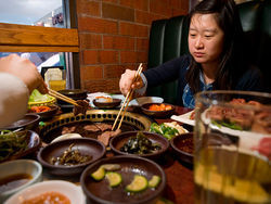 The grill next door: Rachel Seo sticks with the Korean barbecue at Silla.
