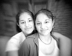 Practice what you teach: For Estephania and Esperanza Chavez, reading is fundamental.
