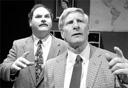 Teachers&#039; fret: Chuck Wigginton (left) and Fred Lewis 