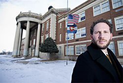 Skyland principal Arthur Baraf believes his charter school will be successful.