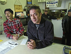 Danny Cordova runs the original Chubby's restaurant on 38th Avenue.