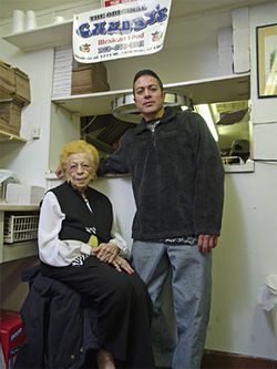 Stella Cordova, who is 98, plans to turn Chubby's over to her grandson, Danny.