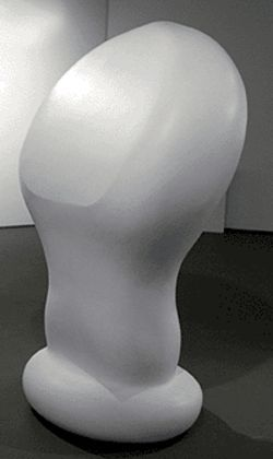 """Untitled,"" by Lawrence Argent, polyurethane."