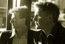 Photo Finnish: Neil Finn (left) and Tim Finn are the  Finn Brothers.