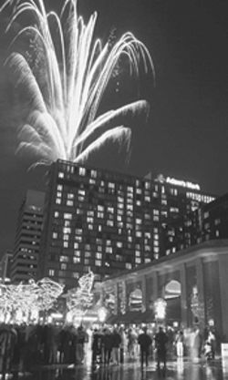 Fireworks will light up the Denver sky on December  31.