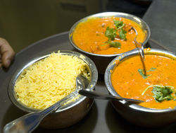 Chicken Tikka Masala. See a photo slideshow from inside Yak and Yeti.