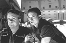 Taking up space: Tim Robbins and Gary Sinese in Mission to Mars.