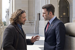 Russell Crowe and Ben Affleck star in State of Play.