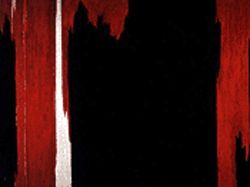 """1954,"" by Clyfford Still, oil on canvas."