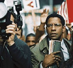 The truth is out there: Denzel Washington is crazy like  a fox in The Manchurian Candidate