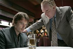 Philip Seymour Hoffman (with Ethan Hawke, left, in Before the Devil Knows You're Dead) had a great year in film.