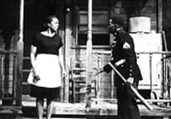 Adrienne Martin-Fullwood and David Pinckney in August Wilson's Fences.
