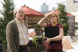 Philip Seymour Hoffman and Samantha Morton in Synecdoche, New York.