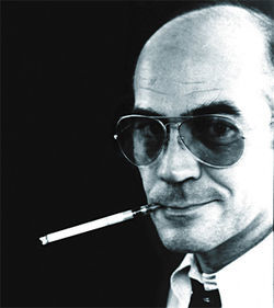 Hunter S. Thompson ran for sheriff on the &quot;Freak Power&quot; ticket in 1970.