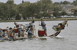The Dragon Boat Festival continues to whip up a froth.