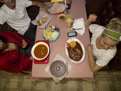 Slide show: In the kitchen at Tarasco's.