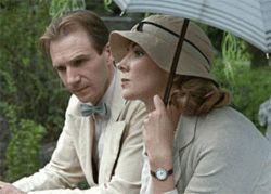 Ralph Fiennes and Natasha Richardson are easy on  the eyes -- even if The White Countess is not.