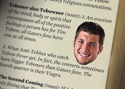 Find the rest of our Tebow glossary: The 2011 Tebow glossary of Tebow terms.