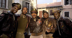 George Lucas's Red Tails, a period piece about the Tuskegee Airmen, is set for release later this month.