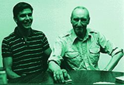 The old man and the Lee: Hill with William S. Burroughs.
