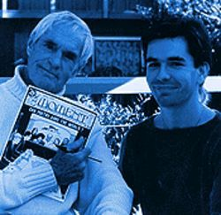 Yin and yang: ...Hill with Timothy Leary.