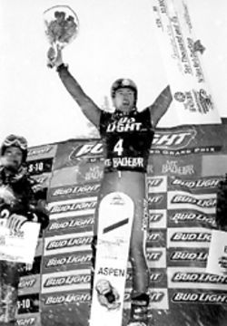 After winning the Grand Prix in Oregon, Chris was the first pick for the U.S. Olympic snowboard team.