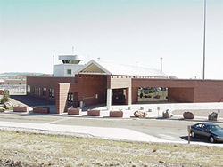 High lonesome: Located in the heart of a four-prison complex outside Florence, ADX was the government's solution to violence at other high-security prisons.