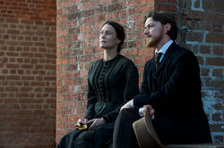 Robin Wright and James McAvoy star in The Conspirator.