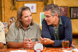 Beau Bridges and George Clooney star in The Descendants.